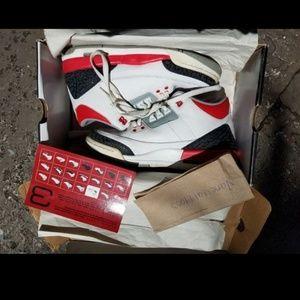Air Jordan Retro 3s Fire reds